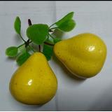 Frutas Decoración Centro De Mesa Ramillete X 2 Peras