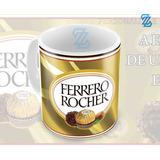 Caneca Ferrero Rocher Pascoa + Embalagem Presente F1
