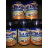 Glucosamina Chondroitin & Msm 120 Perlas Liquidas Usa