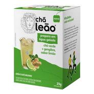 Chá Leão Água Gelada - Chá Verde Gengibre E Limão 10 Sachês