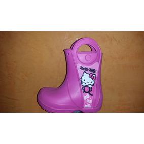 Botas De Lluvia Para Niño Y Niña Marca Hello Kitty Nuevas