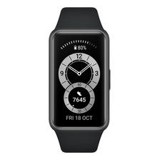 Huawei Band 6 1.47  Caja De  Polímero  Dark Gray Malla  Graphite Black De  Silicona Fra-b19