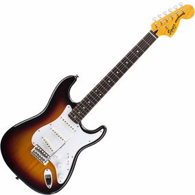 Guitarra Fender Squier Strato Rw Vintage Modified Sunburst