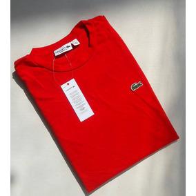 Camiseta T-shirt Lacoste Cuello Redondo Nuevos Modelos!