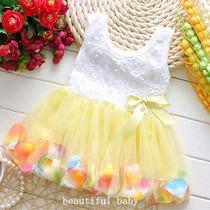 Vestido Infantil Bailarina Para Criança Festa E Aniversário