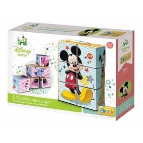 Puzzle Bloques De Mickey/minnie Mouse Disney Bimbi