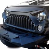 Parrilla Jeep Wrangler Enojado Jk 2007-17 Sahara Rubicon