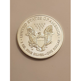 Moeda Dolar Prata Silver Eagle Comemorativa