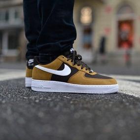 Zapatillas Nike Air Force 1 Tan White Velvet Brown Og