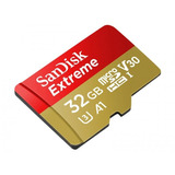 Memoria Micro Sd Xc 32gb Sandisk Clase10 U3 Gopro 4k Ultrahd