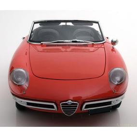 Alfa Romeo Spider Duetto 1966 1/8 Whitebox Ñ É Pocher Senna