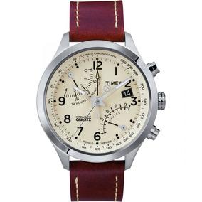 3b1d402ea5e Relógio Timex Couro - Relógios no Mercado Livre Brasil