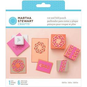 Scrapbook Kit Perforadora Dalia Y 6 Hojas Martha Stewart