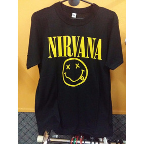 Remera Rock Nirvana F3