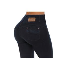 Jeans Colombiano Levanta Cola Azul Petroleo / Grupoborder