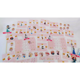 Candy Bar Personalizado Stickers Princesas Disney