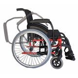 Cadeira Rodas Ortobras Avd Alumínio Desmontável 120 Kg Maca