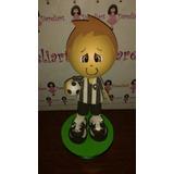 Boneco Jogador Do Botafogo Em Eva 3d 23 Cm - Time De Futebol