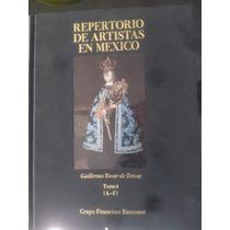 Repertorio De Artistas De México A-f Arte Mexicano