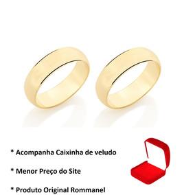 Alianças Rommanel Noivado Namoro Compromisso 510892