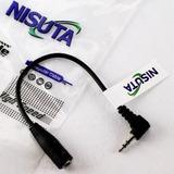 Adaptador Audio Auricular Mini Plug 2.5 A 3.5mm Mp3 Mp4 Htec