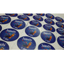 100 Stickers Premium Troquelados 4cm Diseño Gratis En 24 Hs