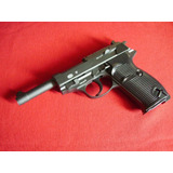 Pistola Metal Airsoft Walter Kwc Envio Gratis Alemania G&g