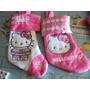 Bota Navideña Hello Kitty Bordada Navidad Imperdible Divina