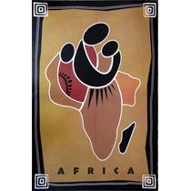 Poster Para Cuadro Etnico Africa