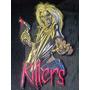 Parche Bordado Iron Maiden Killers