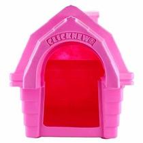 Casa Super Gigante Rosa Para Cães De Grande Porte N6