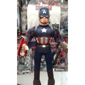 Muñeco Soft Capitan America Original New Toys Gigante 56 Cm