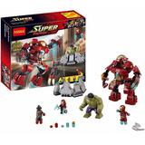 Iron Man Hulk Buster Avengers Ultron Minifigur Com/lego Ajd