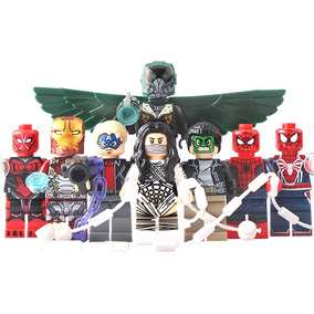 Set Spiderman Regresa A Casa Homecoming Compatible Con Lego