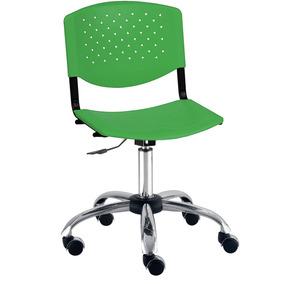 Cadeira Prisma Brasil Lux Verde Plástica