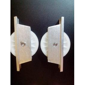 Roldana De Nylon 70 Mm U Para Trilho 1/2 Polegada Portões