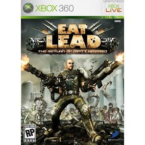 Jogo Eat Lead The Return Of Matt Hazard Xbox 360 Ação Tiro