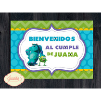 Candy Bar: Kit Imprimible Monsters Inc - Golosinas Y Deco