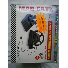 Controle Playstation Mad Catz - Volante - Jogo Playstation