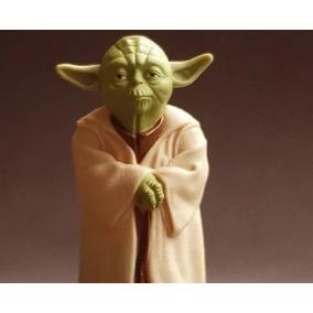 Star Wars Mestre Yoda Boneco De Coleção