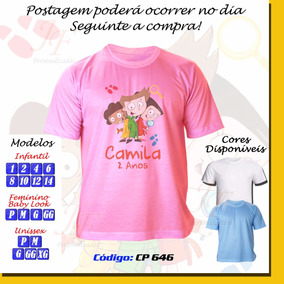 Camiseta Detetives Do Prédio Azul Dpa Personalizada