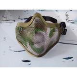 Protector Facial Airsoft Máscara