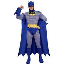 Batman Brave & Muscle Chest Negrita Deluxe Adult Costume (m