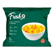 Anana Cubeteado Congelado Fresh X 1kg