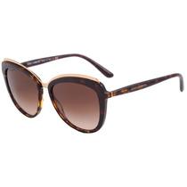 Dolce & Gabbana Dg 4304 - Óculos De Sol 502/13 Marrom