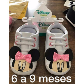 Sapatinho De Bebe Mickey E Minie Importados Eua