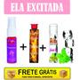 Kit Erótico Sexshop Kit Feminino Sexo Oral Excitante T. Vaca
