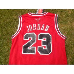 Jersey Bulls De Chicago Roja Michael Jordan 23 Toros Clasica
