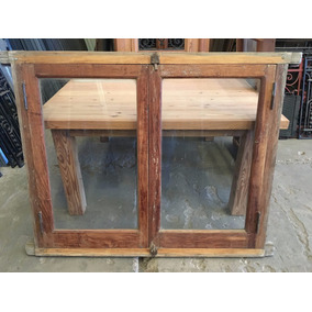 Aberturas ventanas de madera de abrir en mercado libre for Mercadolibre argentina ventanas de madera