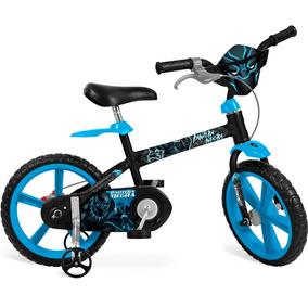 Bicicleta Aro 14 Pantera Negra Preto - Bandeirante